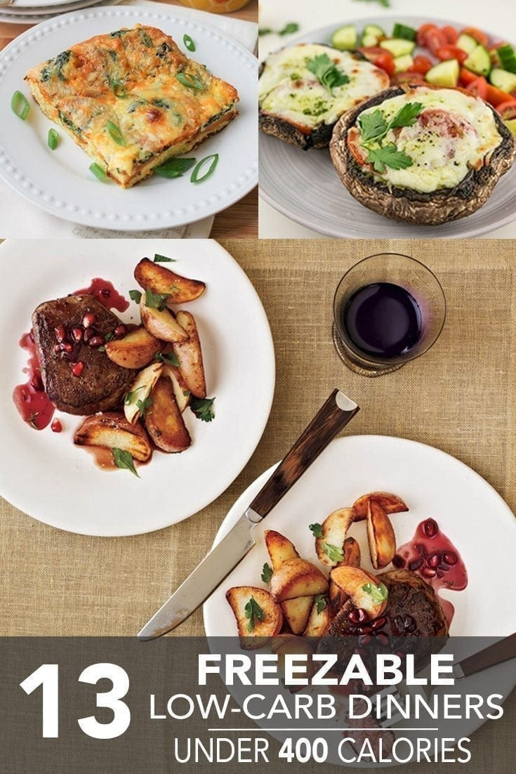 400 Calorie Dinners  13 Freezable Low Carb Dinners Under 400 Calories Hello