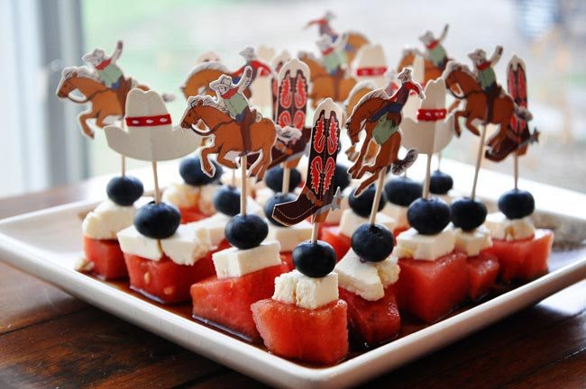 4Th Of July Appetizers  4th of July Cowboy Appetizer
