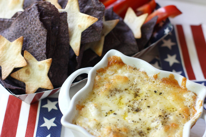 4Th Of July Appetizers  4th of July Appetizer Recipe Chips & Cheese Dip