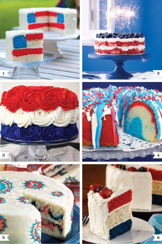 4Th Of July Cake Recipes  Fabulous 4th of July cake recipes