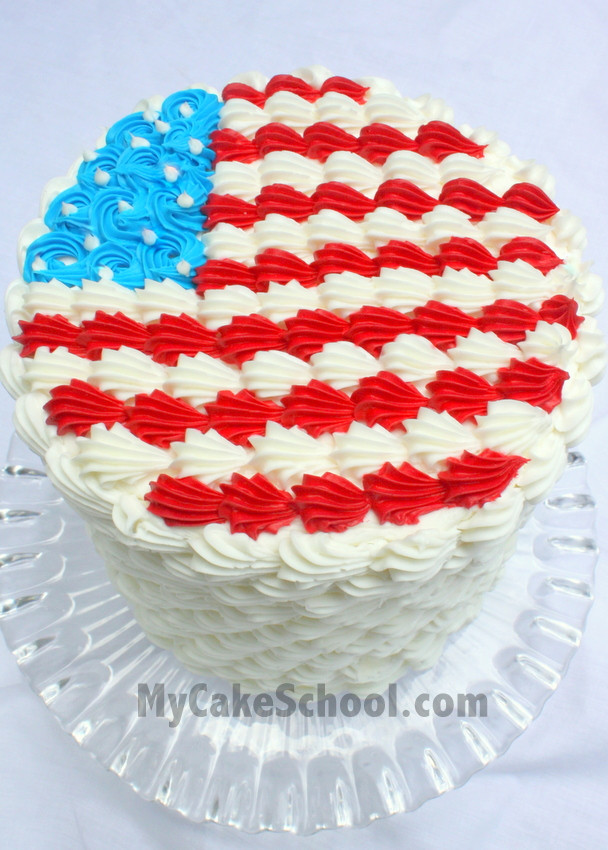 4Th Of July Cake Recipes  Adorable Fourth of July Cake & Cupcake Ideas Tutorial