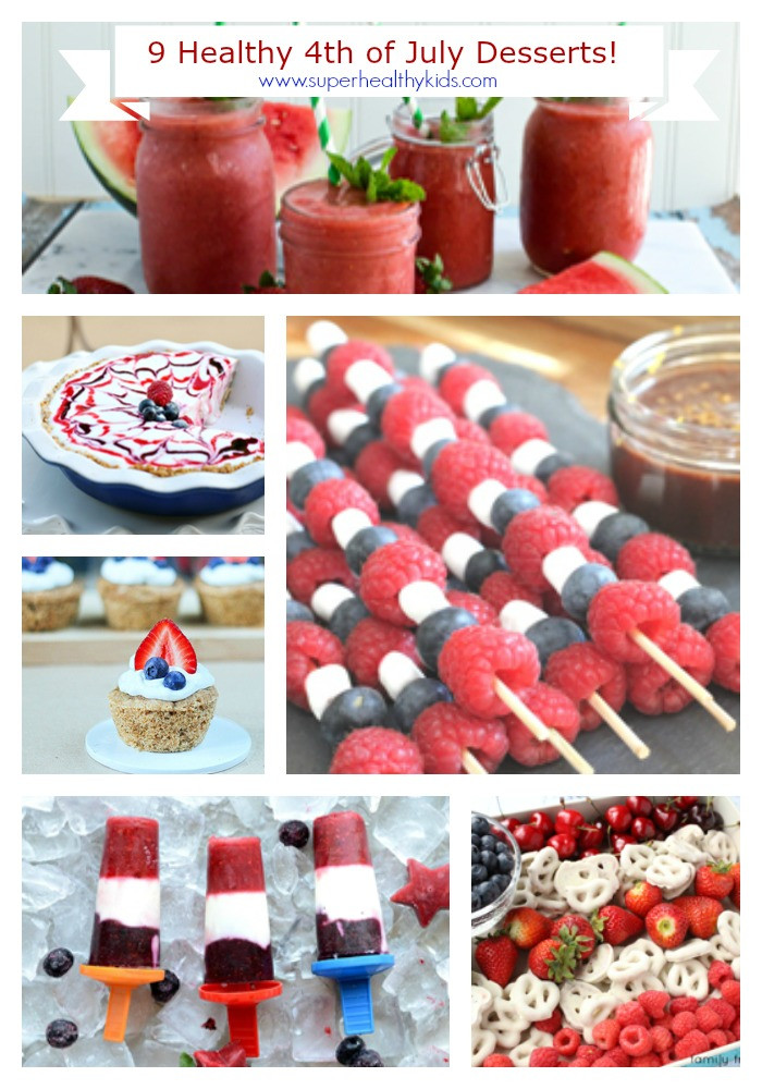 4Th Of July Dessert Recipes  9 Healthy 4th of July Dessert Recipes