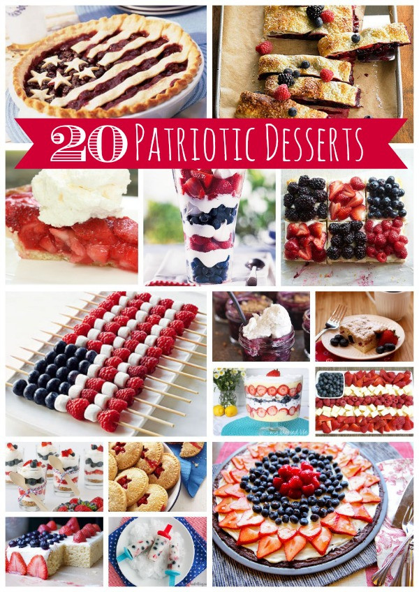 4Th Of July Dessert Recipes  20 4th of July Dessert Recipes