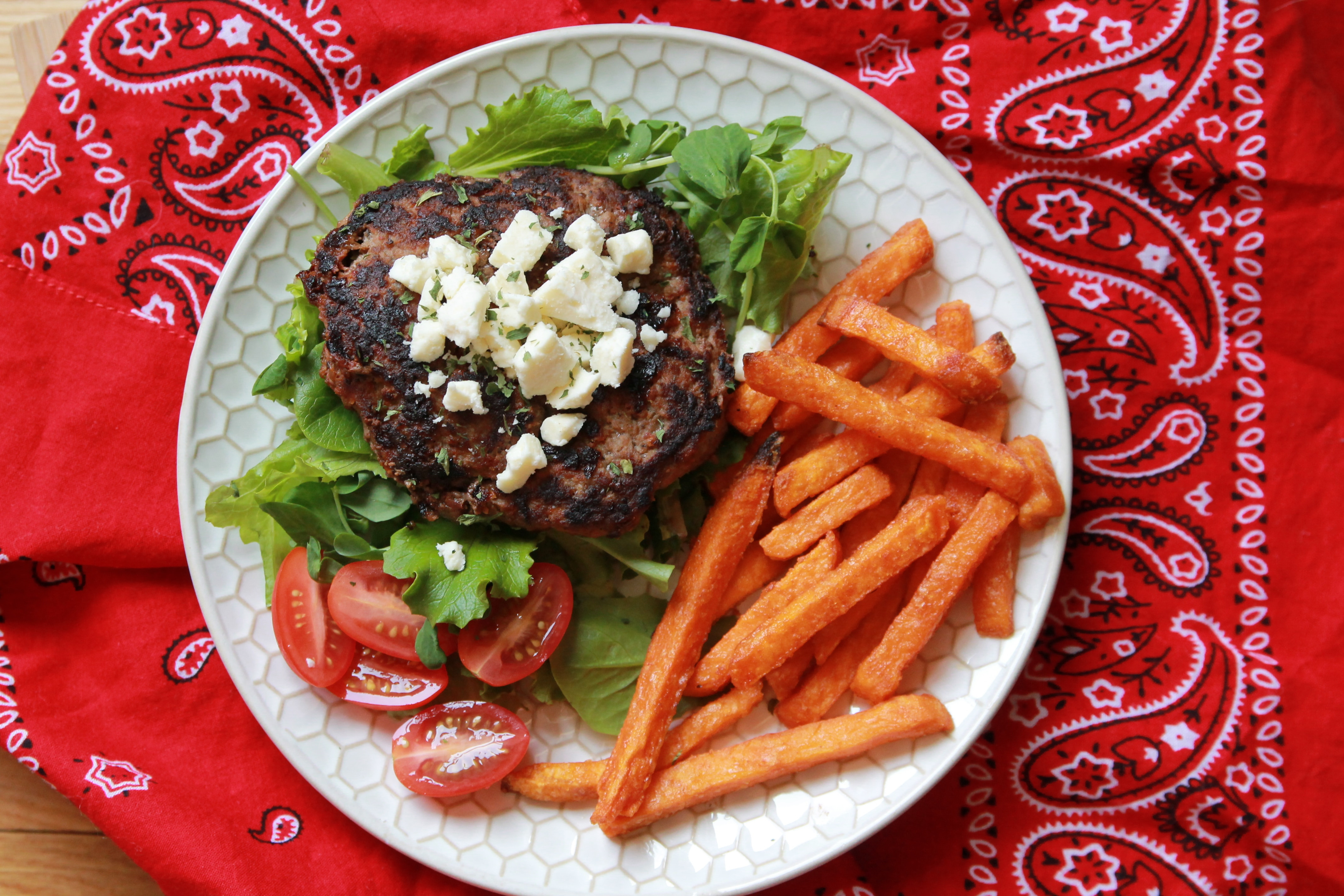 5 Dinners In 1 Hour  Greek Burgers CE 5 Dinners In 1 Hour