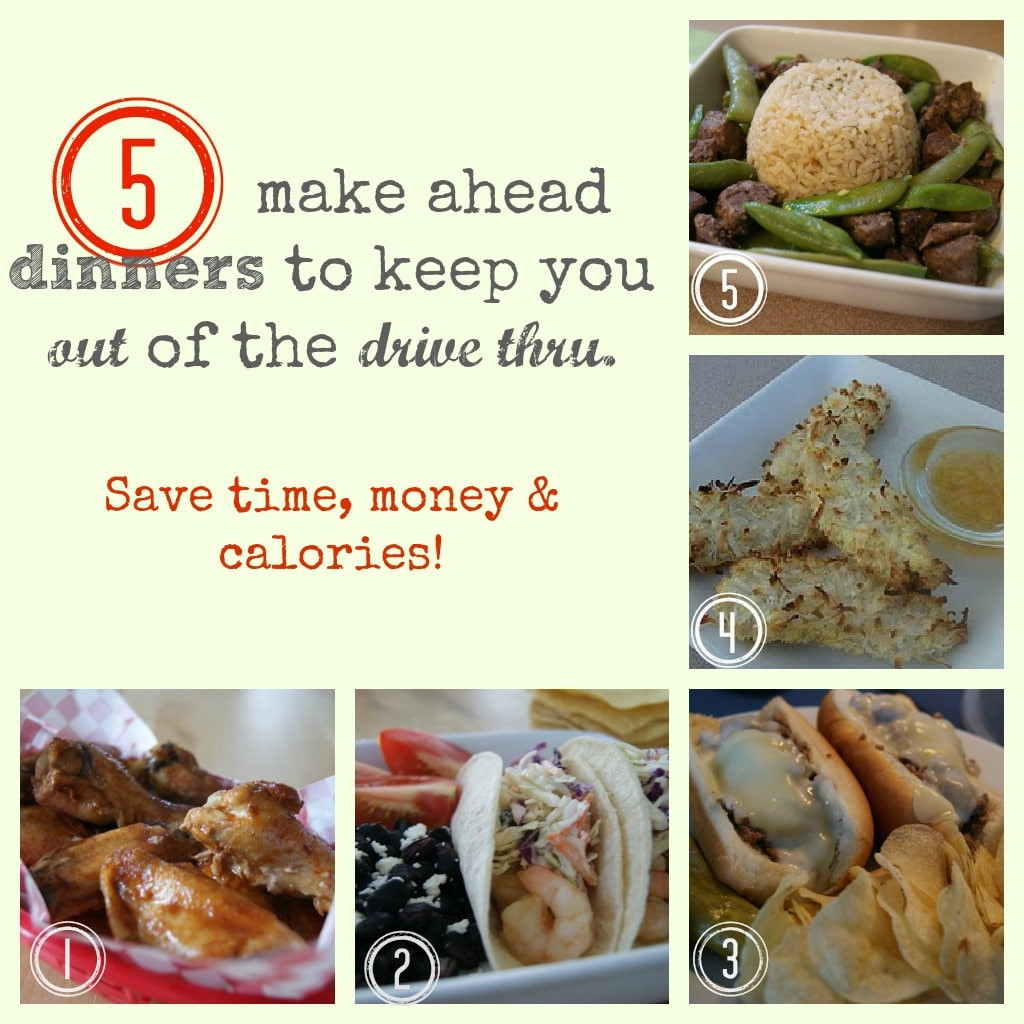 5 Dinners In 1 Hour  Healthy Dinner Ideas 5 Dinners In 1 Hour