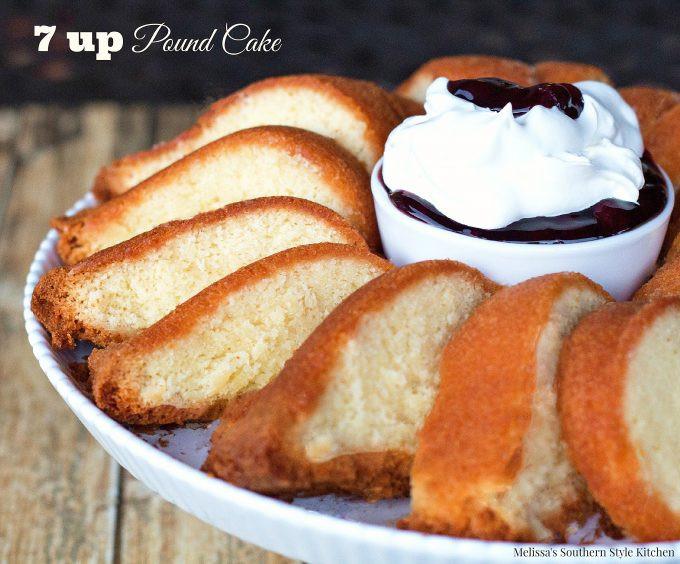 7 Up Pound Cake  7 up Pound Cake melissassouthernstylekitchen