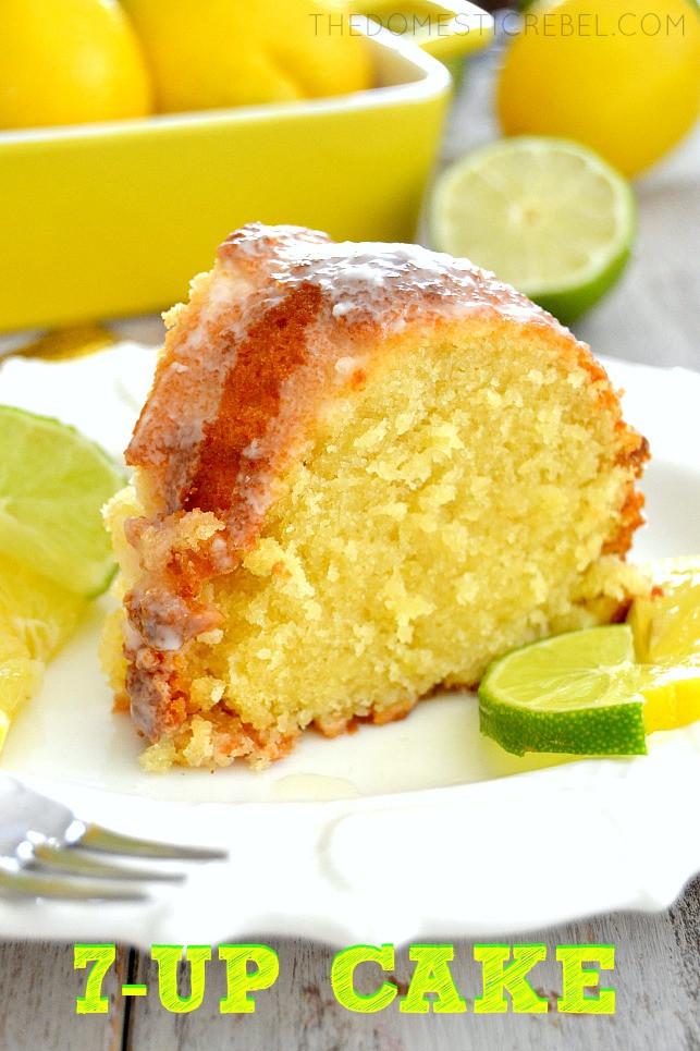 7Up Pound Cake Recipe  7 Up Pound Cake The Domestic Rebel