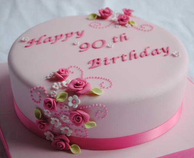 90Th Birthday Cake  90th Birthday Cake