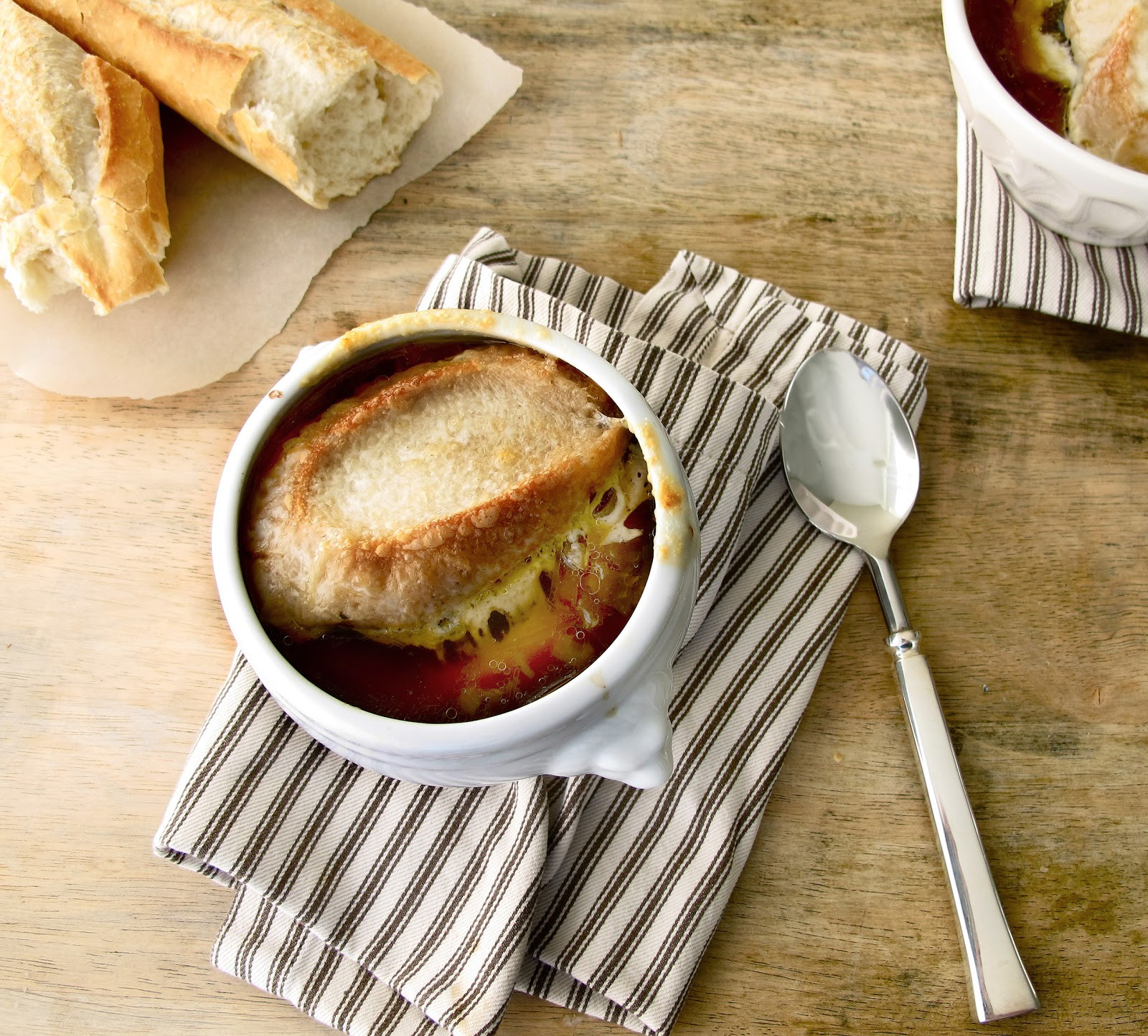 A Dinner Of Onions  Jenny Steffens Hobick French ion Soup Recipe