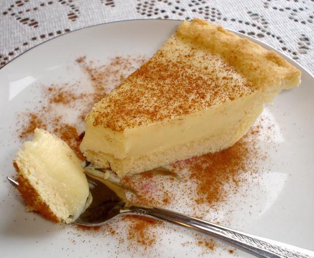 African Dessert Recipes  Melktert on Pinterest