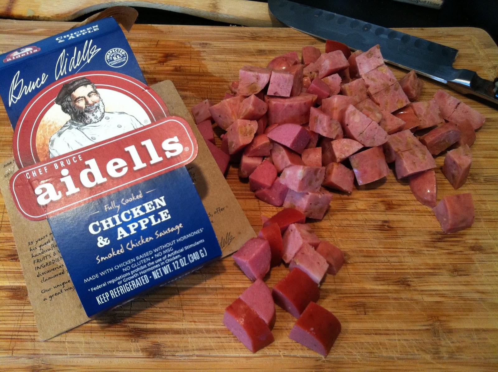Aidells Chicken Apple Sausage  DishStack Mmm Mmm Good