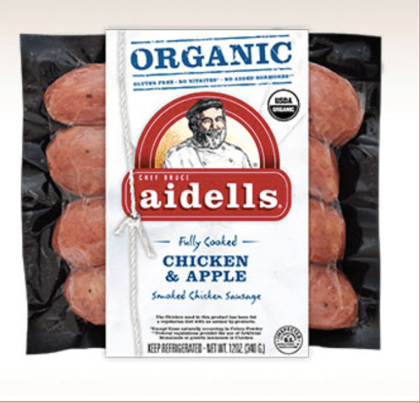Aidells Chicken Apple Sausage  grainfree Daily Beauty Wisdom