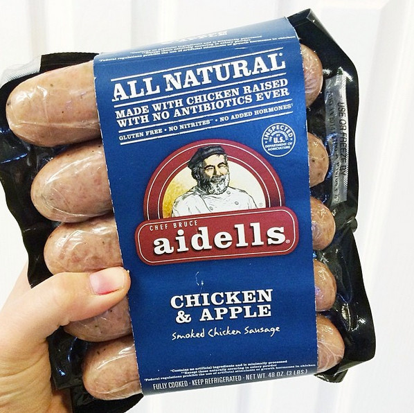 Aidells Chicken Apple Sausage  THE EAT YOUR HEART OUT DIET May 2014