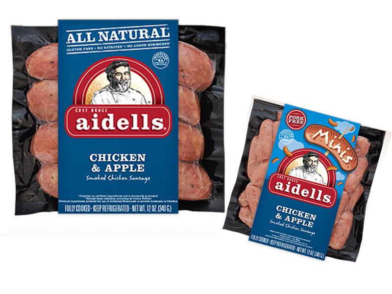 Aidells Chicken Apple Sausage  Gluten Free Game Day