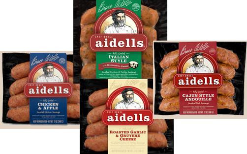 Aidells Chicken Apple Sausage  New Products