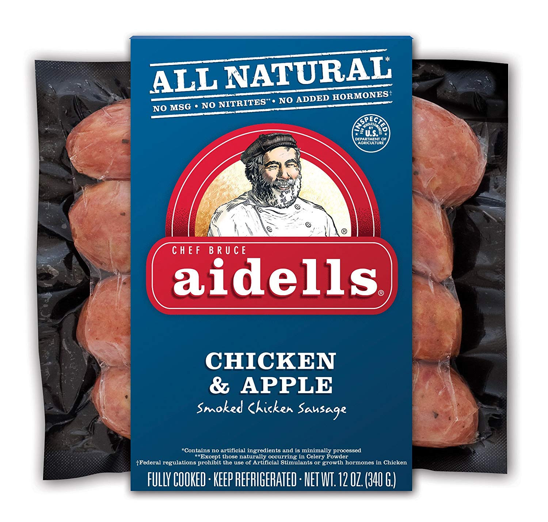 Aidells Chicken Apple Sausage  aidells chicken apple sausage recipe