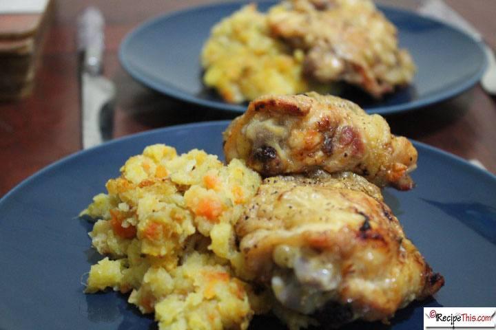 Air Fryer Chicken Thighs  Air Fryer Chicken Thighs & Instant Pot Root Mash • Recipe This