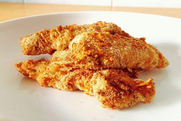 Air Fryer Fried Chicken Breast  Airfryer Fried Parmesan Chicken