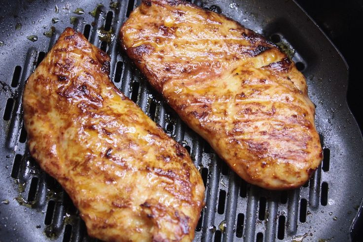 Air Fryer Fried Chicken Breast  Easy Glazed Chicken Recipe AirFryer