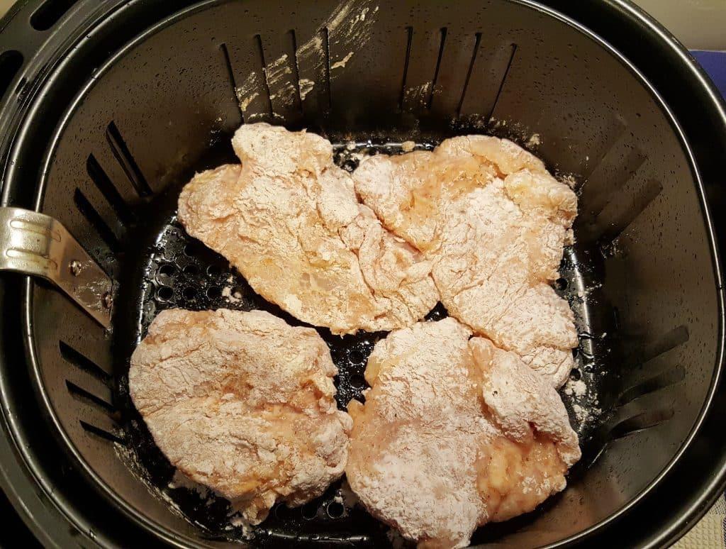 Air Fryer Fried Chicken Breast  Air Fryer Chick fil A Chicken Sandwich Copycat Recipe
