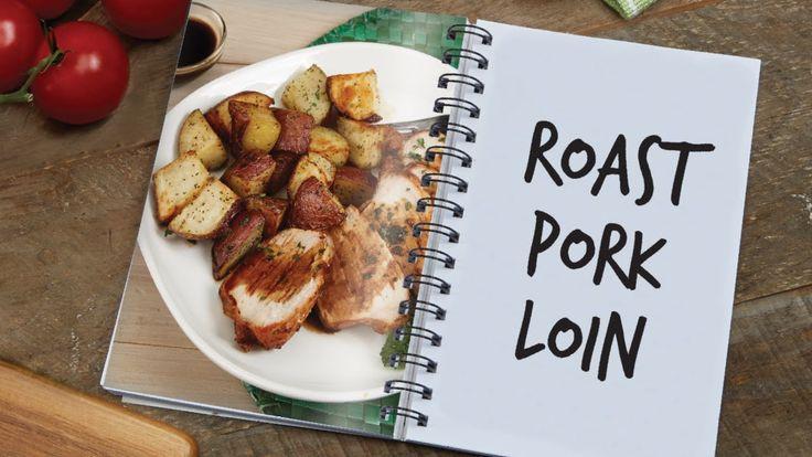 Air Fryer Pork Tenderloin  Power AirFryer XL Roasted Pork Loin and Potatoes Recipe