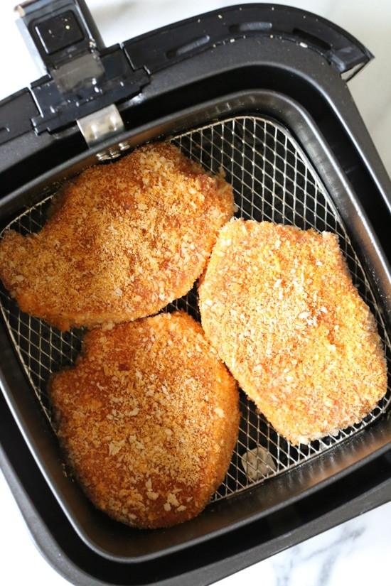 Air Fryer Pork Tenderloin  Crispy Breaded Pork Chops in the Air Fryer