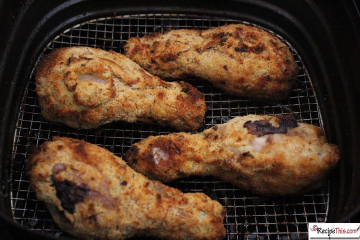 Air Fryer Recipes Fried Chicken  Southern Air Fried Chicken Drumsticks • Recipe This