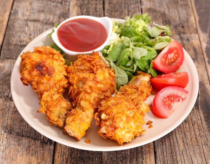 Air Fryer Recipes Fried Chicken  Crispy Air Fryer Fried Chicken In 30 Minutes [Step by Step