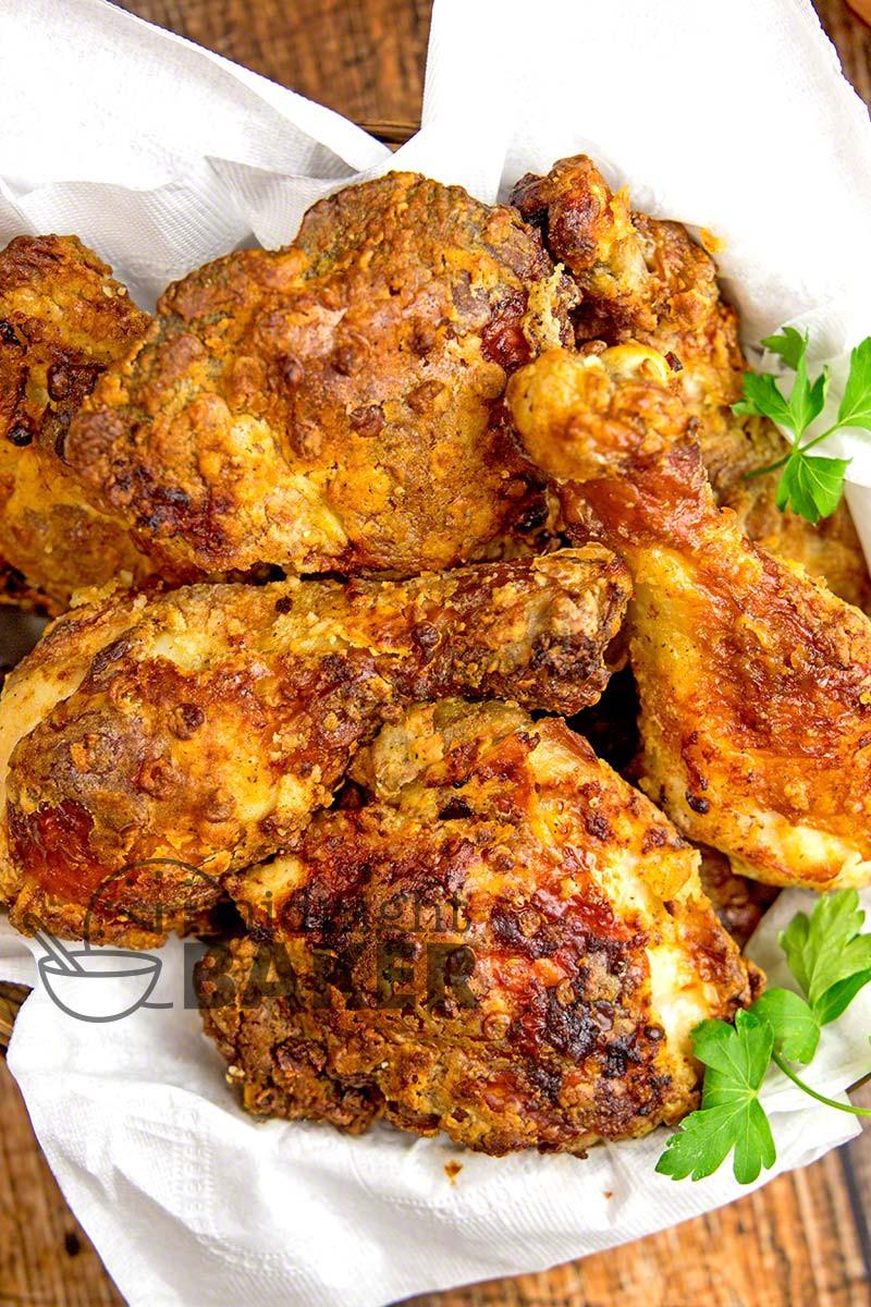 Air Fryer Recipes Fried Chicken  Crispy Low Fat Air Fryer Chicken The Midnight Baker