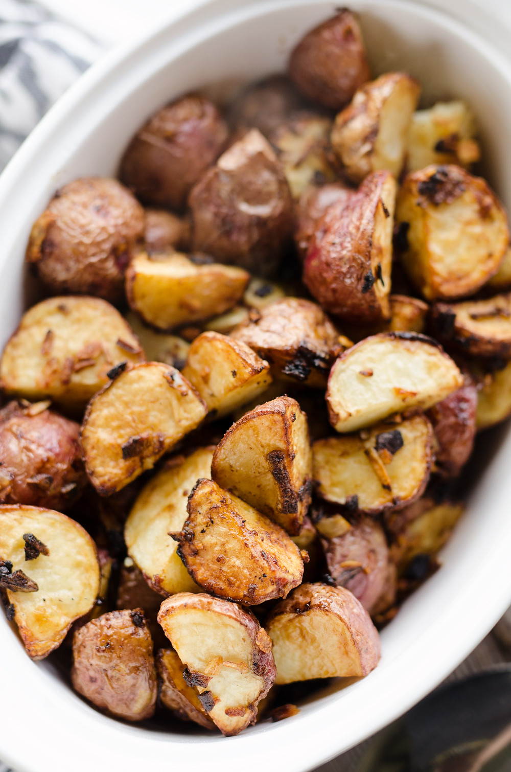 Air Fryer Roasted Potatoes  Airfryer Crispy Roasted ion Potatoes 20 Minute Recipe