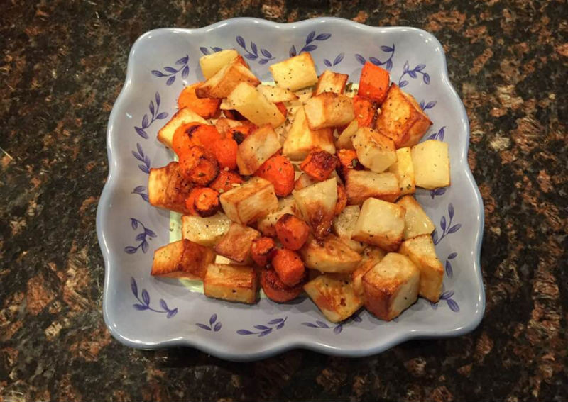 Air Fryer Roasted Potatoes  Air Fryer Roasted Potatoes and Carrots Skip The Salt