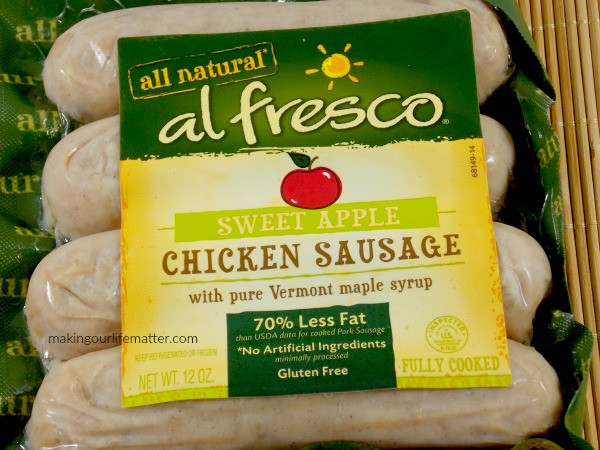 Al Fresco Chicken Sausage  Bring The Delicious Taste NYC To Your Family Table