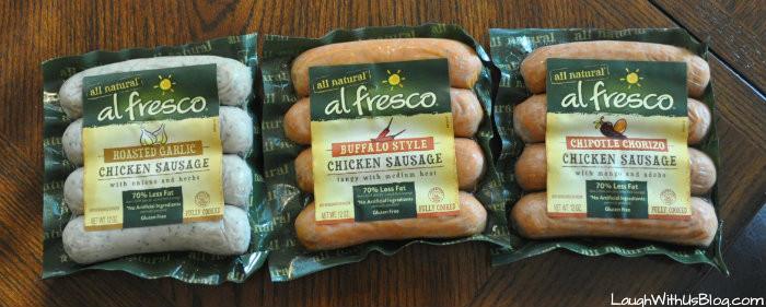Al Fresco Chicken Sausage  Sausage Pasta Skillet Laugh With Us Blog