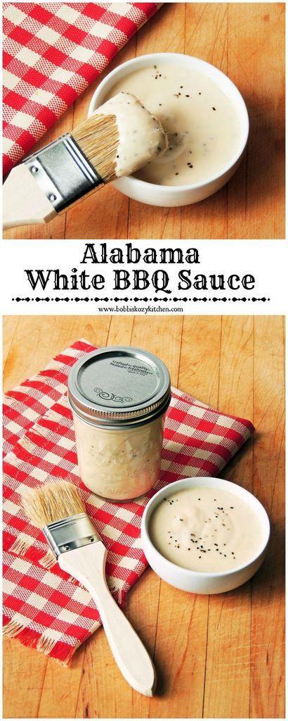 Alabama White Bbq Sauce  Alabama White Barbecue Sauce Recipe — Dishmaps