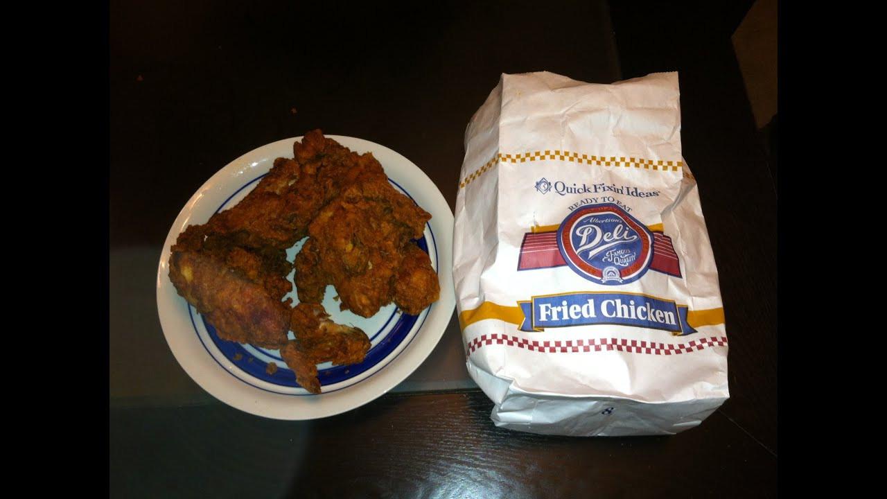 Albertsons Fried Chicken  Albertson s Fried Chicken Review
