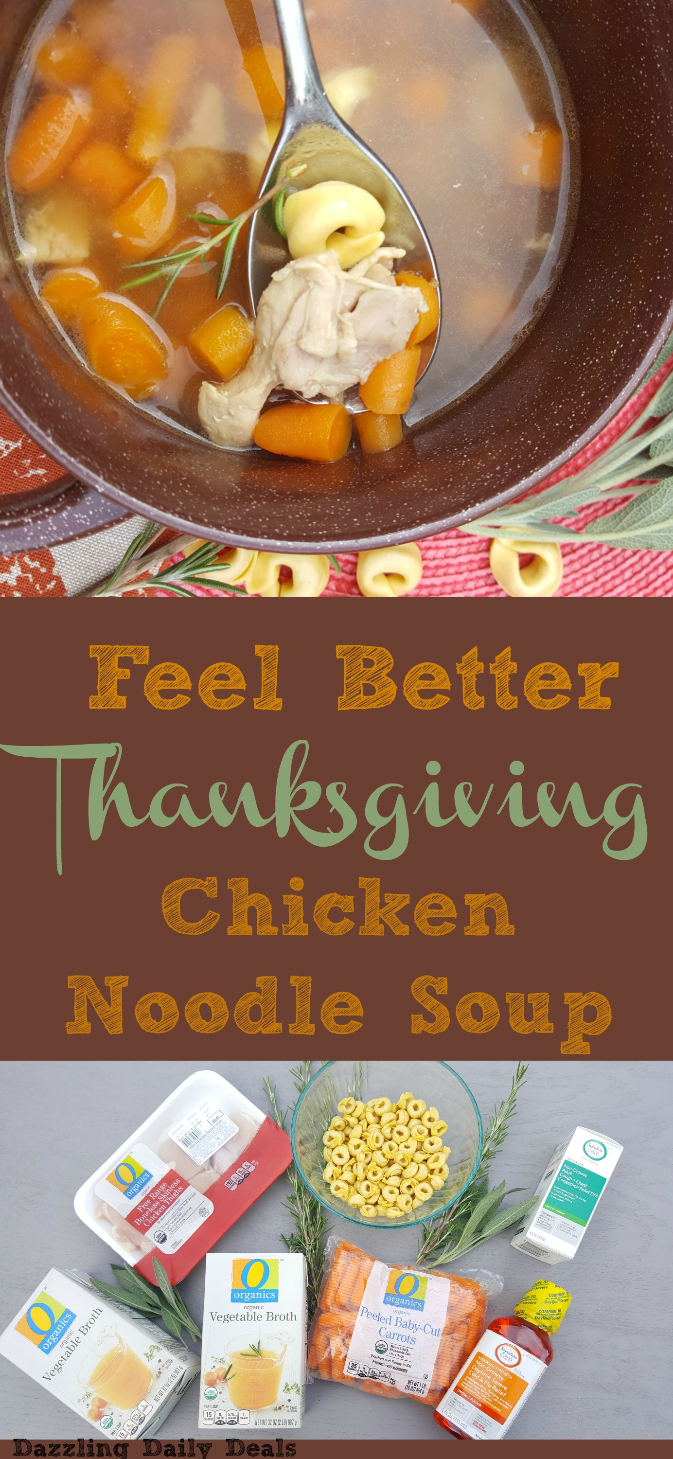 Albertsons Thanksgiving Dinners  Boost Your Immune System With Thanksgiving Chicken Noodle