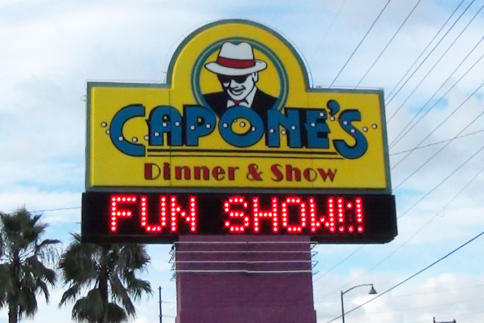 Alcapone Dinner Show  MouseSteps Capone s Dinner Show Review Kissimmee