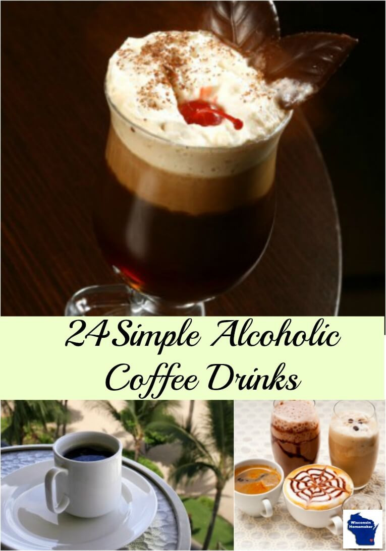 Alcoholic Coffee Drinks  Simple Alcoholic Coffee Drink Recipes