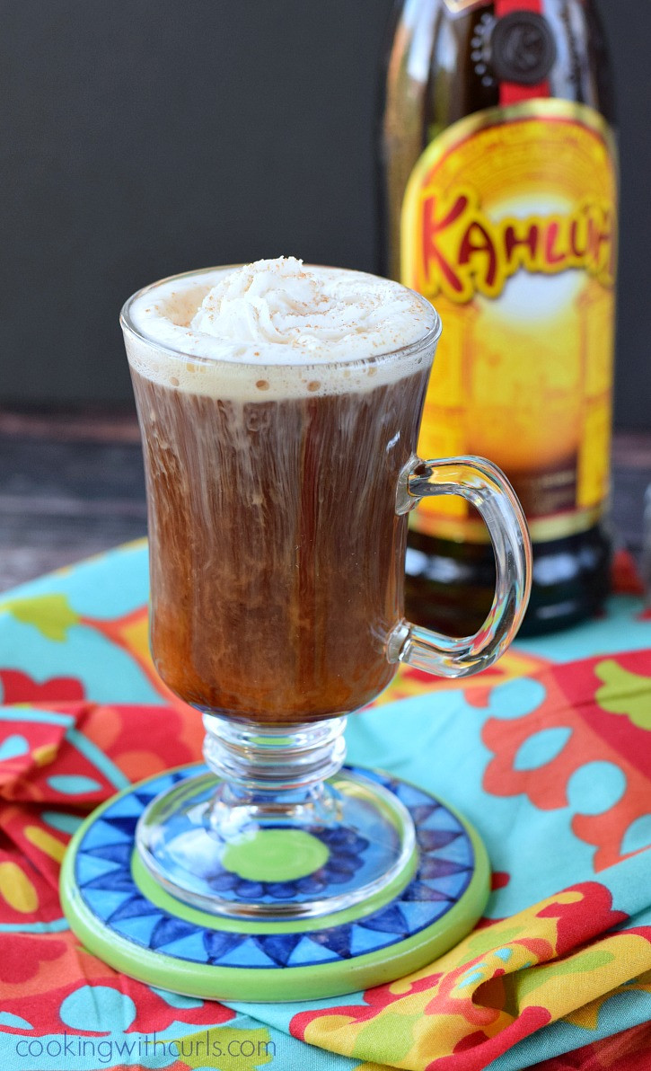 Alcoholic Coffee Drinks  Mexican Coffee Cocktail Cooking With Curls