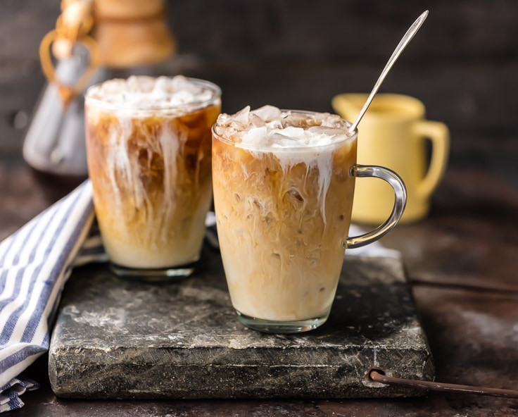 Alcoholic Coffee Drinks  Spiked Thai Iced Coffee Plus Non Alcoholic Version The
