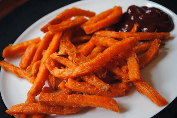 Alexia Sweet Potato Fries  Alexia Sweet Potato Fries Review Baked and Delicious