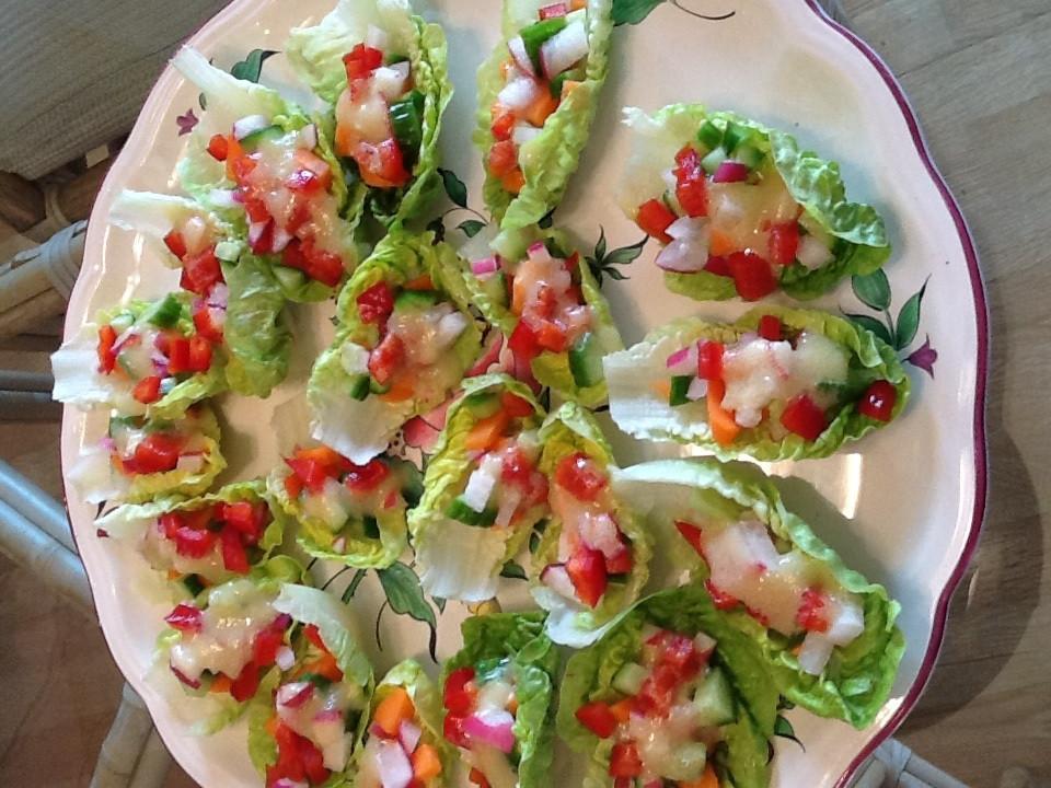 Alkaline Breakfast Recipes  Alkaline Recipe 176 Delicious Little Gem Lettuce Salad