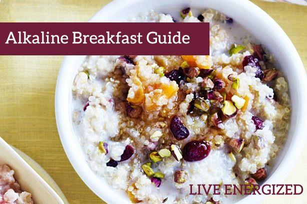 Alkaline Breakfast Recipes  14 best images about acid alkaline on Pinterest