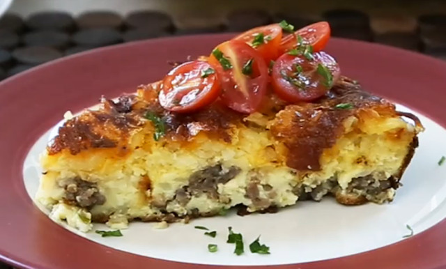 All Recipes Breakfast Casserole  Country Sunday Breakfast Casserole Video Allrecipes
