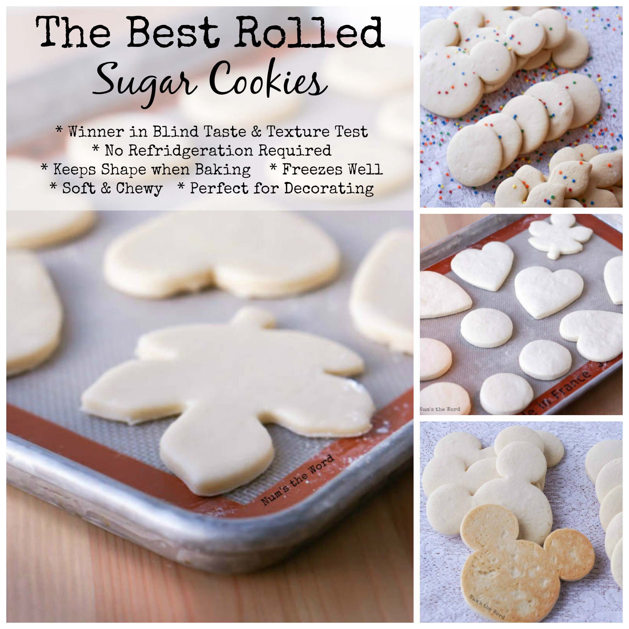 All Recipes Sugar Cookies  best rolled soft sugar cookies