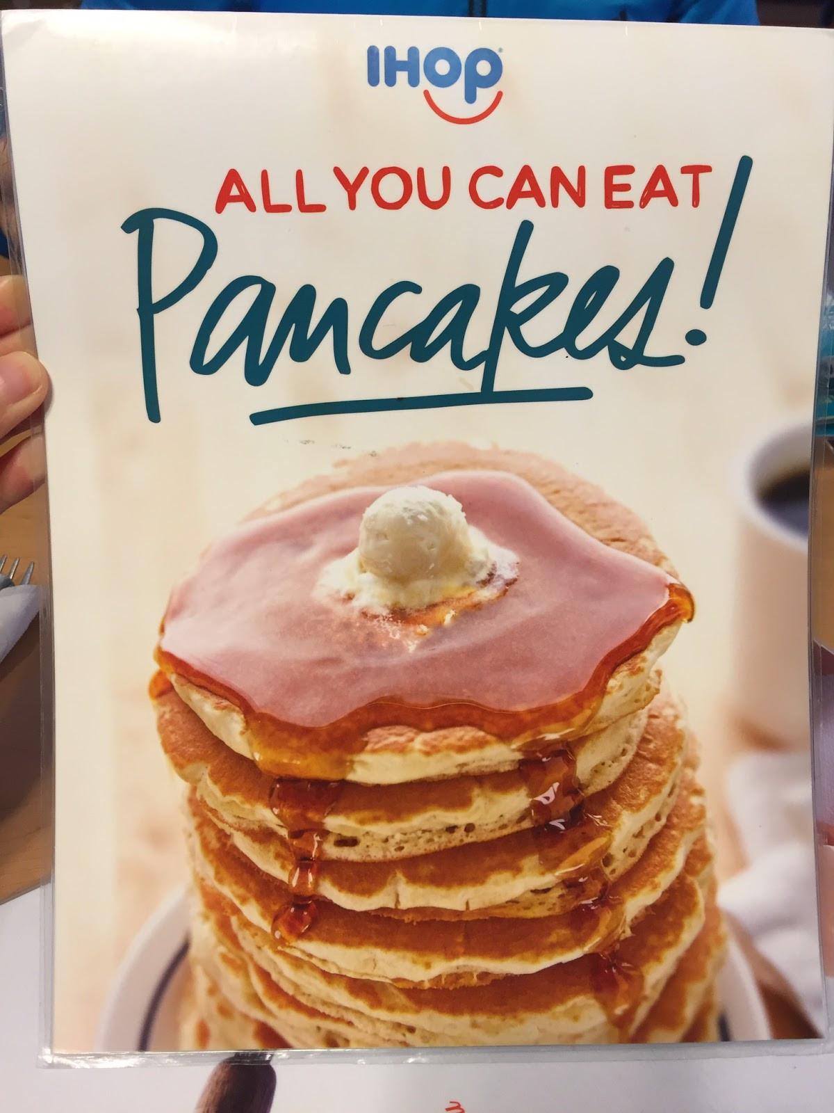 All You Can Eat Pancakes  All You Can Eat Pancakes At IHOP アイホップのパンケーキ食べ放題 I m