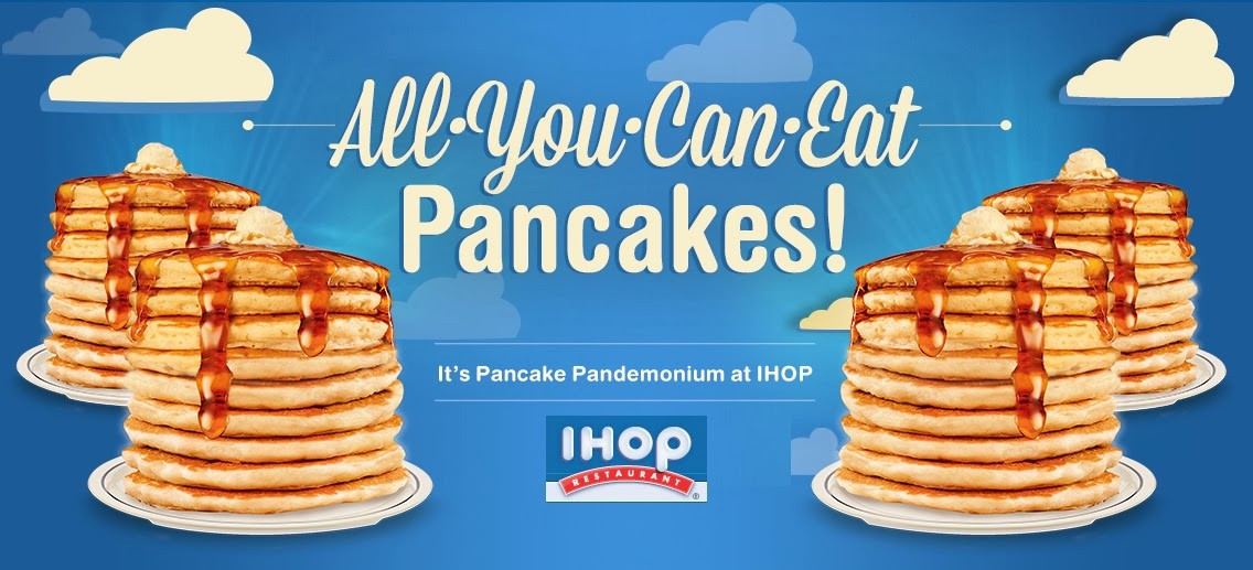 All You Can Eat Pancakes  Bonggamom Finds IHOP All You Can Eat Pancakes are back