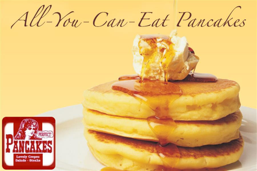 All You Can Eat Pancakes  Scoopon