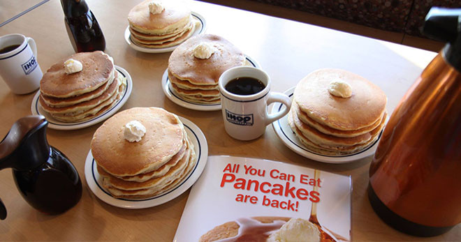 All You Can Eat Pancakes  IHOP All You Can Eat Pancakes