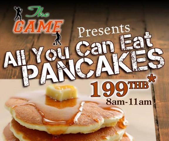 All You Can Eat Pancakes  All You Can Eat Pancakes ly 199 Baht – Stickboy Bangkok